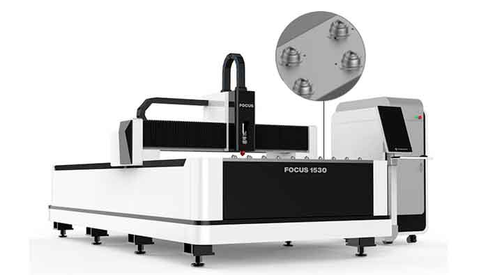 equipo de corte laser para cortar acero al carbono,acero inoxidable,cobre,aluminio. máquina corte laser en fibra