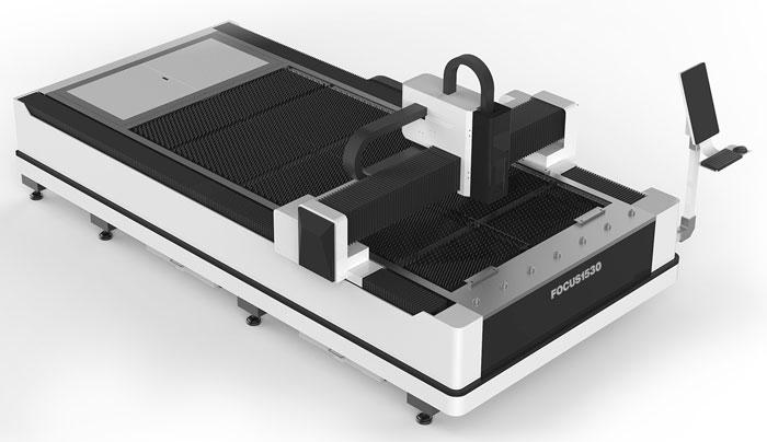 Equipo de corte laser de fibra pantografo cnc laser